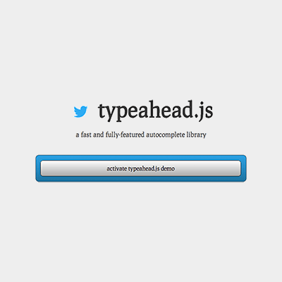 Link toEnhancing the search form with typeahead.js