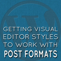 Visual editor post formats 02