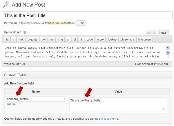 Extending The Default Wordpress Rss Feed