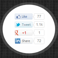 Adding lazy loading social buttons