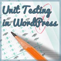 Link toQuiz: unit testing in wordpress