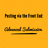 Preview advanced submission