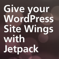 Link toGive your wordpress site wings with jetpack