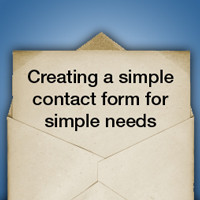Preview for Creating a Simple Contact Form for Simple Needs