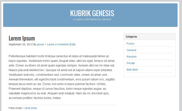 themes of genesis essay