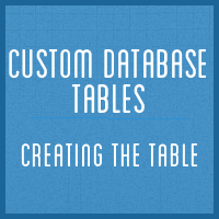 Customdbtables part1