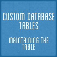 Customdbtables part4