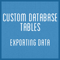 Customdbtables part5