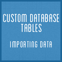 Customdbtables part6