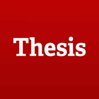 is a thesis and introduction the same