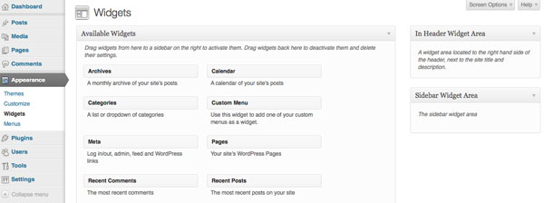 creating-wordpress-theme-from-static-html-widgets-screen-before