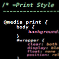 Link toQuick tip: adding a simple print stylesheet to wordpress
