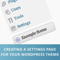 Preview for Create a Settings Page For Your WordPress Theme