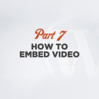 Link toWordpress 101 video training part 7: embedding video