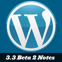 Wordpress 3.3 update