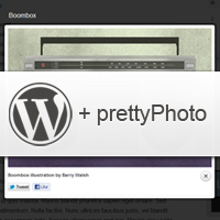 Link toHow to integrate prettyphoto with post images in your themes