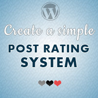 Preview for How to Create a Simple Post Rating System With WordPress and jQuery
