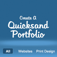 Preview for Create a Quicksand Portfolio With WordPress
