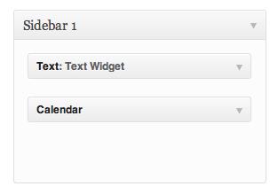 Example Widgets