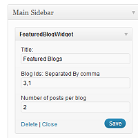 Link toA featured blog plugin for wordpress multisite
