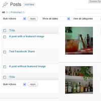 Link toAdd a custom column in posts and custom post types admin screen
