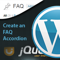 Link toCreate an faq accordion for wordpress with jquery ui