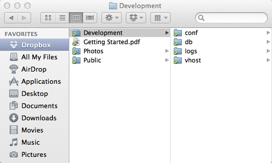dropbox instructions for mac