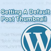 Link toQuick tip: saving a default post thumbnail