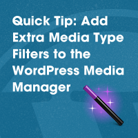 Link toQuick tip: add extra media type filters to the wordpress media manager